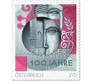 100 years of the Salzburg Festival - Austria 2020 - 27 Euro