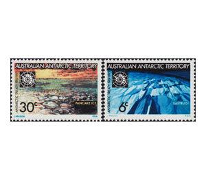 10th Anniversary of Antarctic Treaty - Australian Antarctic Territory 1971 Set