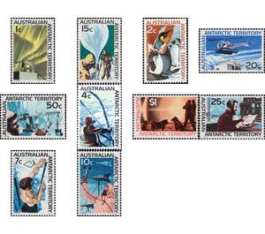 Antarctic Scenes 1966-1968 - Australian Antarctic Territory 1966 Set