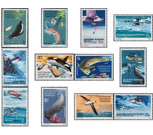 Antarctic Wildlife and Aircraft - Australian Antarctic Territory 1973 Set