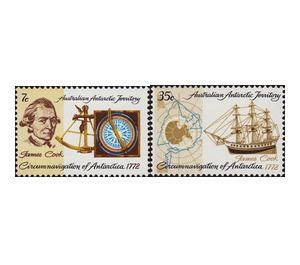 Bicentenary of Cook's Circumnavigation of Antarctica - Australian Antarctic Territory 1972 Set