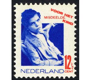 Neglected child - Netherlands 1931