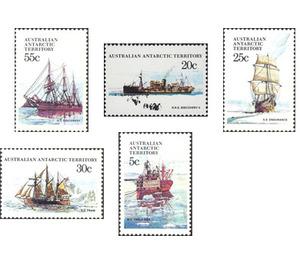 Ships - Australian Antarctic Territory 1979 Set