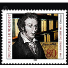 200th birthday of Leopold Gmein  - Germany 1988 - 80 Pfennig