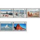 Antarctic Scenes 1984-1987 - Australian Antarctic Territory 1984 Set