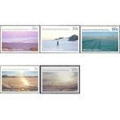 Antarctic Scenes 1984-1987 - Australian Antarctic Territory 1987 Set
