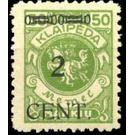 CENT. Type I on Memeledition - Germany 1923 - 2