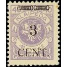 CENT. Type I on Memeledition - Germany 1923 - 3