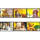 Children's Health. Teddy Bears and Dolls - New Zealand 2000 Set