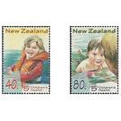 Children's Health. Water Safety - New Zealand 1998 Set