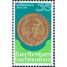 coins  - Liechtenstein 1977 - 35 Rappen