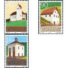 Dorfansichten  - Liechtenstein 2001 Set