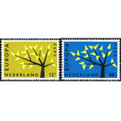 Europa (C.E.P.T.) 1962 - Tree - Netherlands 1962 Set