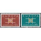 Europa (C.E.P.T.) 1963 - Square - Netherlands 1963 Set