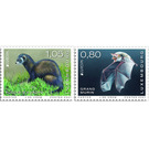 Europa (C.E.P.T.) 2021 - Endangered Species - Luxembourg 2021 Set