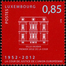 European Court of Justice - Luxembourg 2012 - 0.85