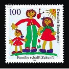 Family creates future  - Germany 1992 - 100 Pfennig