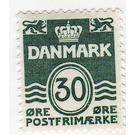 Figure 'wave'- type - Denmark 1967 - 30