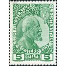 Freimarke  - Liechtenstein 1912 - 5 Heller