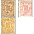 Heraldry - Netherlands 1875 Set