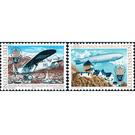 History of the post office  - Liechtenstein 1979 Set