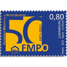House of the Open Door Federation, 50th Anniversary - Luxembourg 2021 - 0.80