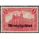 Imperial Post Office Berlin, overprint Memel-Area - Germany 1920 - 1