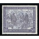 Leipzig Spring Fair 1948  - Germany 1948 - 50 Pfennig