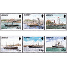 Maritime links with France - Jersey 2001 Set