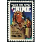 McGruff, The Crime Dog - United States of America 1984