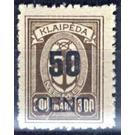 New value on Memeledition - Germany 1923 - 50