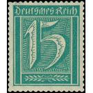 Postage stamp set  - Germany 1921 - 15 Pfennig