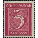 Postage stamp set  - Germany 1921 - 5 Pfennig