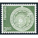 Postal stamp - Astronomical clock  - Switzerland 1980 Set
