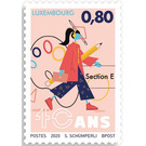 Section E Arts Education, 40th Anniversary - Luxembourg 2020 - 0.80