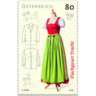 Series: Classic traditional costumes - The traditional costume of Flachgau  - Austria 2019 - 80 Euro Cent