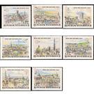 Stamp exhibition - WIPA  - Austria 1964 Set