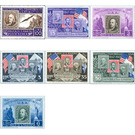 Stamp jubilee U.S.A. - San Marino 1947 Set