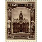 Stampexhibition Borgerhout - Belgium 1936
