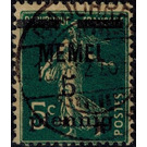 The Seederess, overprint Memel - Germany 1920 - 5